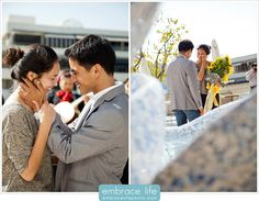 Marriage Proposal Photographer - Walt Disney Concert Hall