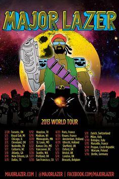 Major Lazer Announces 'Free The Universe' World Tour