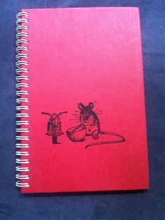 The Mouse and the Motorcycle Blank Book by Merrittorious on Etsy, $10.00