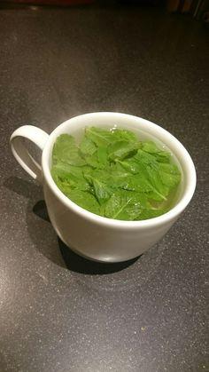 Fresh mint tea ❤