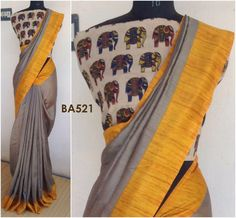 Bhagalpur silk cottons Ethnic Fashion, Womens Fashion, Simple Sarees, Saree Blouse Patterns, Weave, Silk, Cotton, Clothes, Beauty