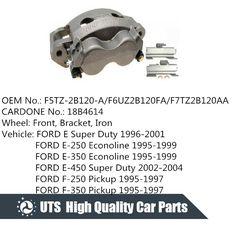Front OE Brake Calipers For 1999 2000 2001 Mazda Protege 1.6L