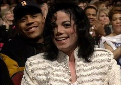 Michael Jackson being stalked by LL Cool J