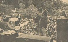 Big Brother And The Holding Company. Looks like it might be in Golden Gate Park.