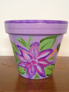 Hey, I found this really awesome Etsy listing at https://www.etsy.com/listing/176118511/hand-painted-6-inch-decorative-flower