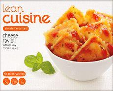 Lean Cuisine Simple Favorites: LEAN CUISINE One Dish Favorites Cheese Ravioli