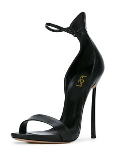 #FSJshoes - #FSJ Shoes Black Ankle Strap Sandals Stiletto Heel 4 Inch Heels Shoes - AdoreWe.com