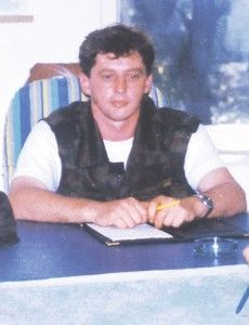 """Garda Panteri"" major Branko ""Panter"" Pantelić. He died fighting in September 1992 in the town of Majevica."