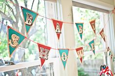 Vintage Circus Themed Baby Shower