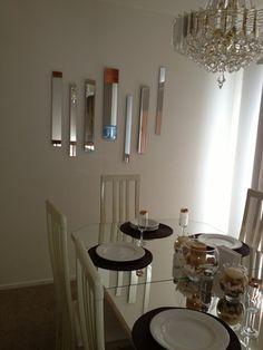 Umbra Strip Wall Mount Mirrors Set Of 7