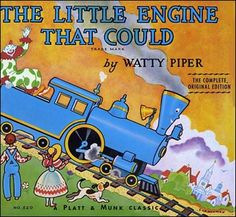 """The Little Engine That Could was written   by """"Watty Piper"""", a pen name of Arnold Munk"""