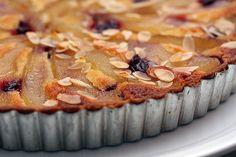 French Pear & Almond Tart Recipe