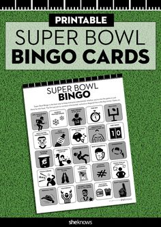 Super Bowl Pools Ideas options for football squares payout Printable Super Bowl Bingo Cards To Keep You Interested In The Game Even If You