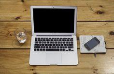 Free Apple MacBook and iPhone mockup