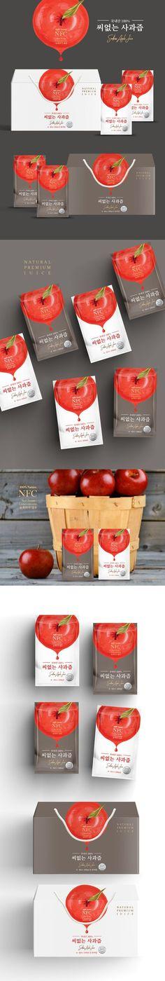 Fruit juice box apples 21 ideas for 2019 Apple Packaging, Juice Packaging, Box Packaging, Food Packaging Design, Packaging Design Inspiration, Branding Design, Label Design, Box Design, Healthy Fruit Smoothies