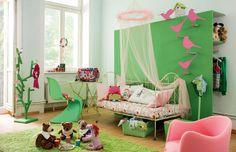 Natur pur! Mit dieser Wandfarbe setzen Sie frische Akzente in Ihren Räumen.