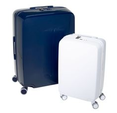 Part luggage and part personal assistant, these wheeled suitcases by Raden—a newly launched company—combine a sturdy polycarbonate shell with a tracking system, a battery for charging gadgets on the go, and a self-weighing mechanism.