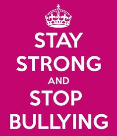 Today is Anti-Bullying Day but everyday should be! Wear pink today and help spread the word! ^hg #pinkshirtday pic.twitter.com/HrBkGG1Db7