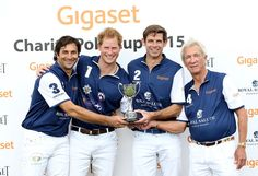 Prince Harry Photos - The Duke of Cambridge and Prince Harry Play in Gigaset Charity Polo Match - Zimbio