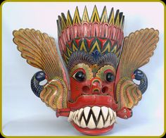 """Maru Raksha"" (Maru Devil) Mask"