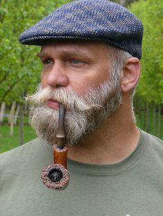 Beards and mustaches Beards And Mustaches, Moustaches, Grey Beards, Blonde Beards, Handlebar Mustache, Beard No Mustache, Beard Hat, Beard Images, Old School Style