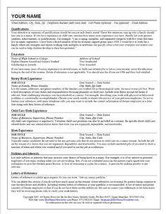 Sample resume format for fresh graduates two page format 11 finding a nanny job in a tough economy click here to see our sample resume posted publicscrutiny Images