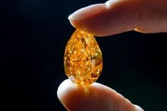 Orange Diamond Sells for $36 Million at Christie's.A spectacular and rare orange diamond, the largest known gem of its kind, was on Tuesday auctioned for a record $35.54 million in Geneva.