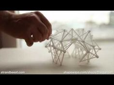 Introducing the 20 legged 3D Printed Strandbeest : Animaris Geneticus Ondularis