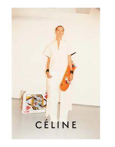 Céline Spring 2011 Campaign | Daria Werbowy & Stella Tennant by Juergen…