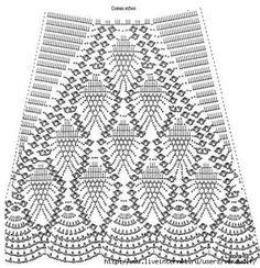 Patrones de Minifaldas en Crochet (3)