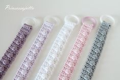 Vauvajuttuja DIY | Prinsessajuttu | Bloglovin' Chrochet, Crochet For Kids, Krispie Treats, Friendship Bracelets, Baby Kids, Knitting, Diy, Knits, Bebe