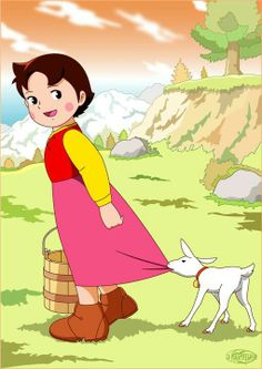 heidi girl of the alps Old Cartoons, Animated Cartoons, Animated Gif, Bear Wallpaper, Cartoon Wallpaper, Heidi Cartoon, Manga Anime, Doraemon Cartoon, We Bare Bears Wallpapers