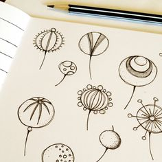 Doodles by PaisleyandBrownPaper Exploring ideas
