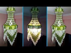 Cotton Chalet / How to make Beaded Chandelier / Beaded Lampshade / DIY Beaded Jhar bati - Macrame Toran Designs, Cozy Home Decorating, Decorating Ideas, Pearl Chandelier, Bathroom Chandelier, Chandeliers, Door Hanging Decorations, Jhumar, Butterfly Tree