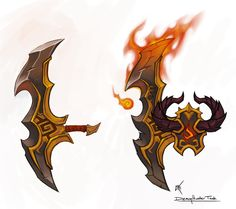 ArtStation - Demon Hunter Tank concept and models for Legion, Christopher Hayes