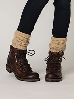 i dont know... combat boots are growing on me.