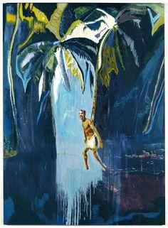 Peter Doig Pelican (Stag), 2003 Öl auf Leinwand, 276 x cm © Peter Doig Peter Doig, Figure Painting, Painting & Drawing, Blog Art, Art Et Design, David Hockney, Canadian Art, Art Graphique, Museum Of Fine Arts