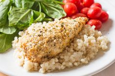 A satisfying and nourishing chicken dinner, complete with a side of couscous or rice.
