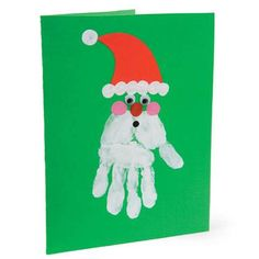Homemade Christmas cards done by hand can make Christmas more traditional. While most people display their generic store-bought Christmas cards, yours will be sure to stand out. Here is a list of some creative homemade Christmas cards we've found. Christmas Arts And Crafts, Christmas Crafts For Toddlers, Homemade Christmas Cards, Christmas Tree Cards, Preschool Christmas, Christmas Activities, Xmas Cards, Kids Christmas, Holiday Crafts