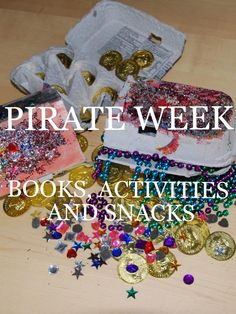 Pirate Theme Week- activities, books and snacks- So many different themes to explore on this site! www.homegrownfriends.com