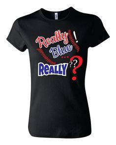 Baseball Mom Shirt, Softball Mom Shirt, Really blue! T-Shirt by TShirtNerds on Etsy Baseball Shirts For Moms, Baseball Crafts, Baseball Mom Shirts, Baseball Boys, Sports Basketball, Sports Mom, Sports Shirts, Baseball Outfits, Baseball Dugout