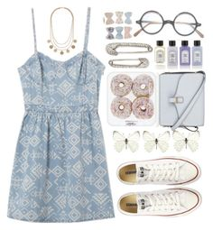 """""""Lalala"""" by raquel-t-k-m ❤ liked on Polyvore featuring Victoria Beckham, Converse and Arran Aromatics"""