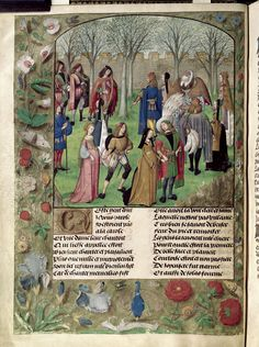 Pretty medieval manuscript of the day shows medieval folk having a boogie… From a richly illustrated edition of the Roman de la Rose, we see a circle dance in the garden of Sir Mirth. Our narrator,...