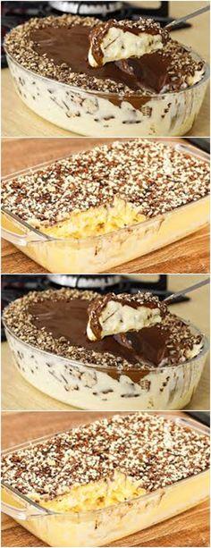 Chocolate Caramel Tart, Cupcakes, Mousse, Pasta, Tiramisu, Food And Drink, Cooking Recipes, Pudding, Diet