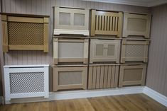 Radiator cover ideas a cover for radiators radiator cover ideas hallway Diy Radiator Cover, Decorative Radiators, Small Hallways, Home Ceiling, Small Basements, Wood Projects, New Homes, Interior Design, Decoration
