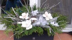 Moje letošní truhlíky .. Floral Arrangements, Advent, Christmas Wreaths, Centerpieces, Decorating, Holiday Decor, Plants, Decor, Decoration