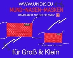 UNDIS Mund-Nase-Masken Such dir einfach dein Lieblingsmuster aus! Unsere Masken für CHF 6.00 / EURO 6.00 (inkl. Versandkosten) aus Baumwolle sind bis 60° waschbar. #mundnasenmaske #mundnasenschut #kindermundschutz #kinder #bunt #buntistmeinelieblingsfarbe #schweiz #deutschland #corona #handmade #handmadewithlove #behelfsmasken #maskezeigen #maskenpflicht #maskennähen #stoffmasken #keineinwegmüll #nähenmachtglücklich #mask #schützedeineumwelt #nachhaltigkeit #gesichtsmasken Euro, Map, Corona, Men's Boxer Briefs, Handarbeit, Funny, Simple, Cotton, Facial Masks