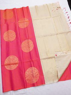 Sari Blouse Designs, Saree Blouse Patterns, Dress Neck Designs, Bridal Blouse Designs, Lehenga Designs, Mysore Silk Saree, Indian Silk Sarees, Ethnic Sarees, Soft Silk Sarees
