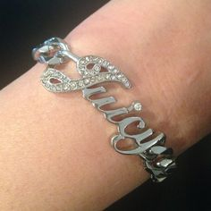 Juicy Couture Bracelet Juicy bracelet Originally $60. Worn twice. Mint condition. Box included. Juicy Couture Jewelry Bracelets