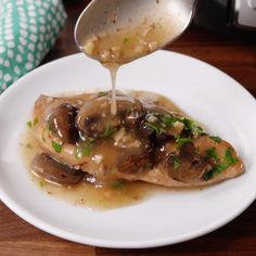 The most flavorful Chicken Marsala you'll ever have. #food #easyrecipe #inspiration #ideas #chicken #familydinner